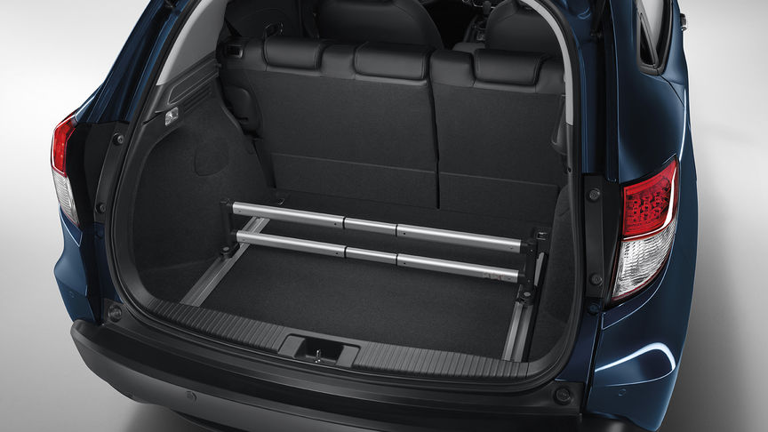 Close up of Honda HR-V premium boot organiser.