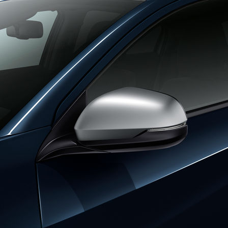 Side view of Honda HR-V mirror.