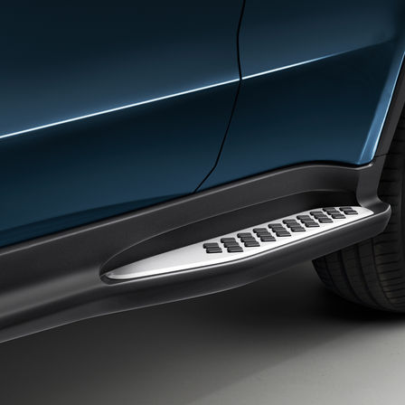 Close up of Honda HR-V door sill.